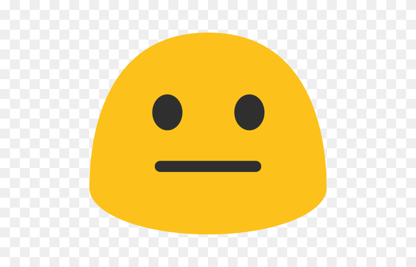 480x480 Emoji - Meh Emoji PNG