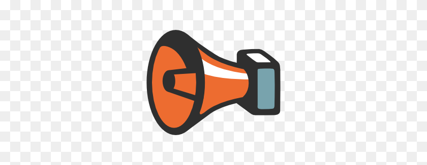 266x266 Emoji Android Public Address Loudspeaker - Loudspeaker Clipart