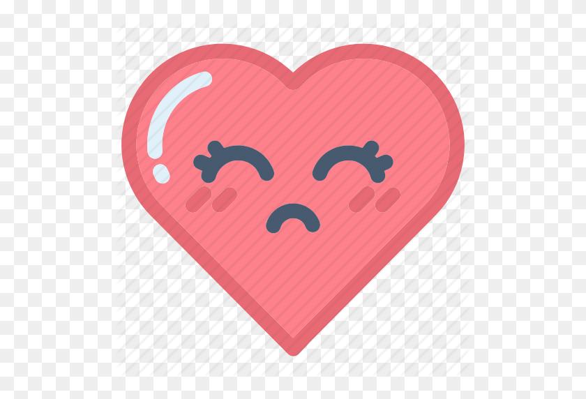 Emoji, Emojis, Face, Heart, Hearts, Love, Valentines Icon - Pink Heart Emoji PNG