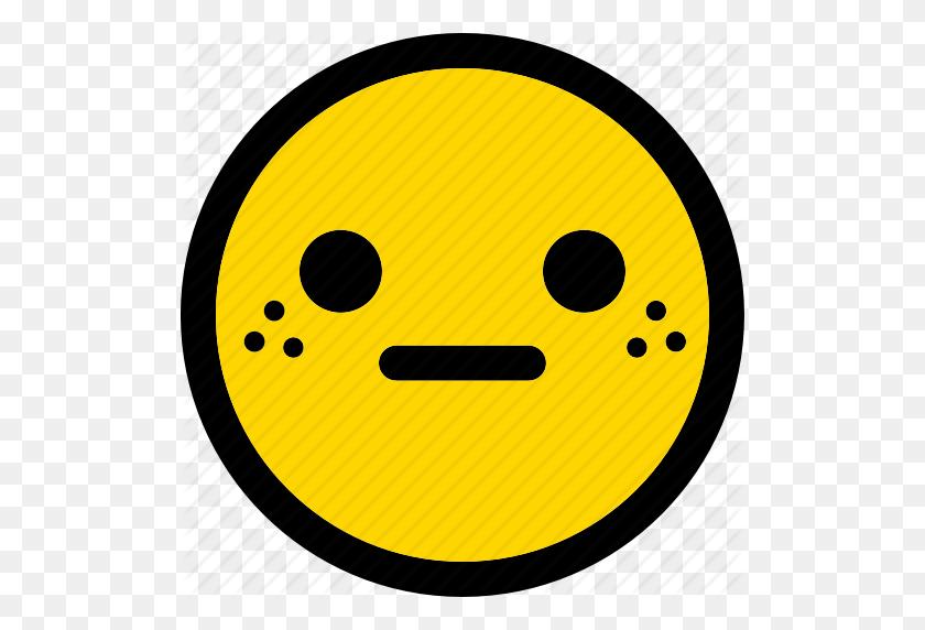 Emoji, Emoticon, Expression, Face, Smiley, Surprised Icon - Surprised Emoji PNG