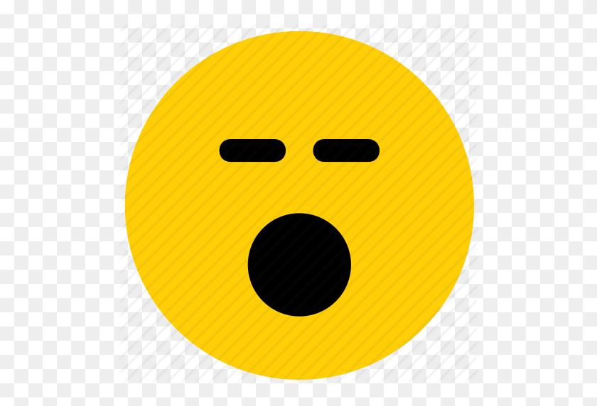 Emoji, Emoticon, Face, Shock, Shocked, Surprise Icon - Shocked Emoji PNG
