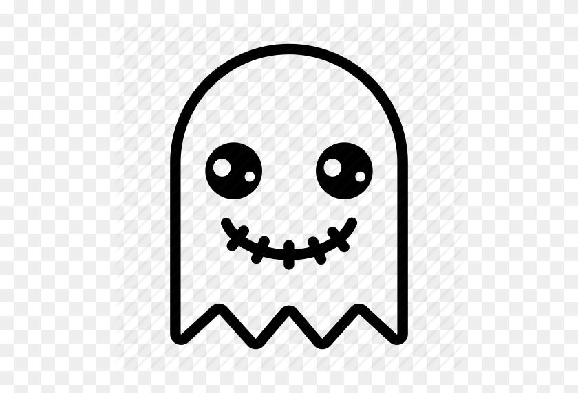 Emoji, Emoticon, Ghost, Ghost Emoji, Halloween, Halloween Emoji - Ghost Emoji PNG