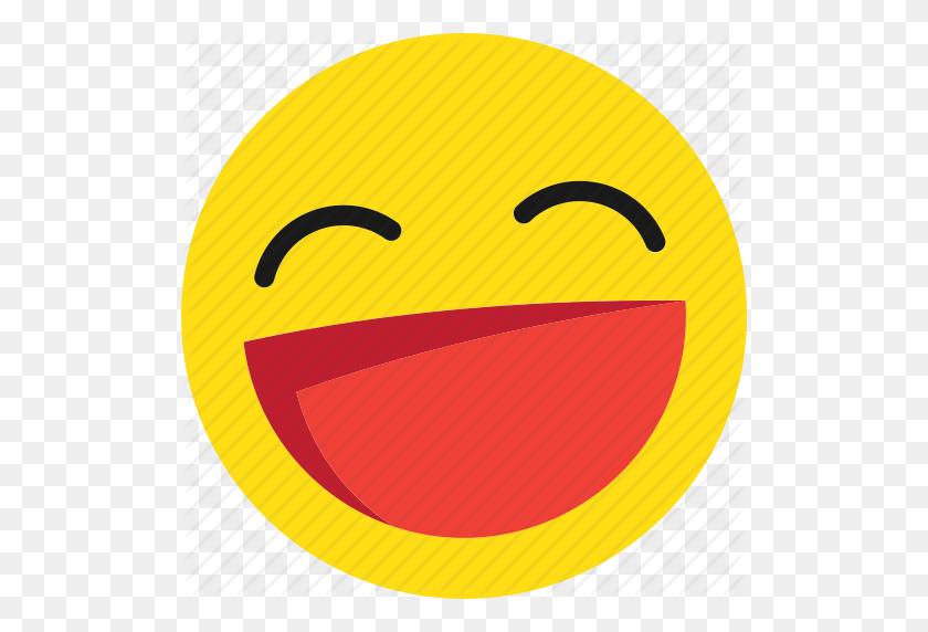 512x512 Emoji, Emoticons, Happy, Laugh, Laughing, Lol, Smile Icon - Lol Emoji PNG
