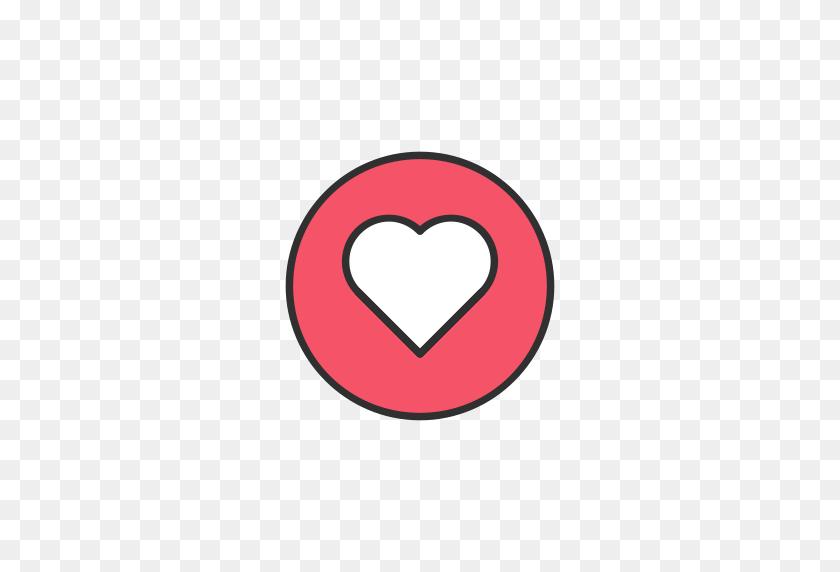 Emoji, Facebook, Heart, Love Icon - Love PNG