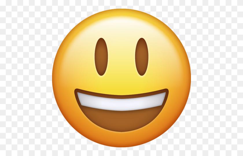 Emoji Png Icon Smiling Large - Smiling Emoji PNG