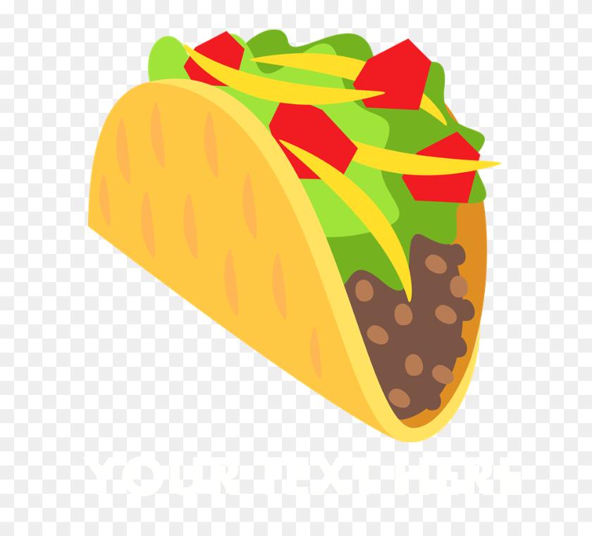 700x700 Emoji Taco Personalized Apron - Taco Emoji PNG