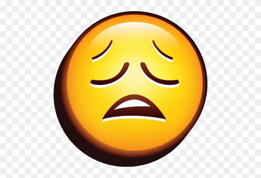 Emoji Whining Icon Emoji Iconset Designbolts - Happy Emoji PNG