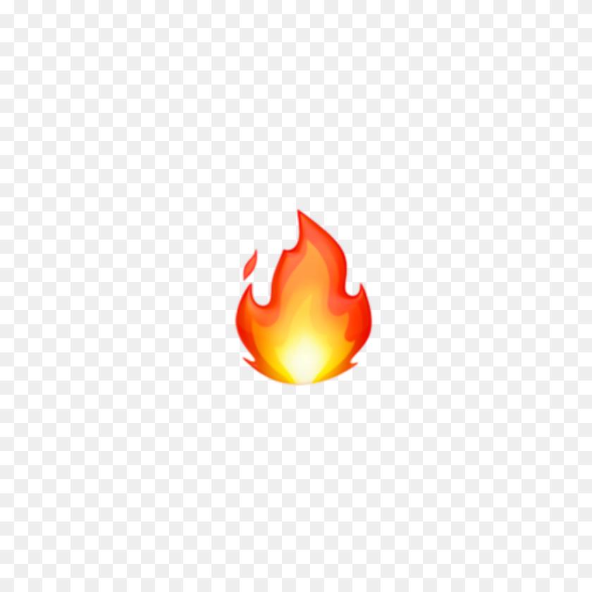 Emojis Emoji Emojifire Fire Orange - Emoji Fire PNG