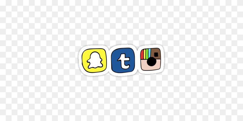 Emojis Redessociales Instagram Snapchat Facebook Sticke