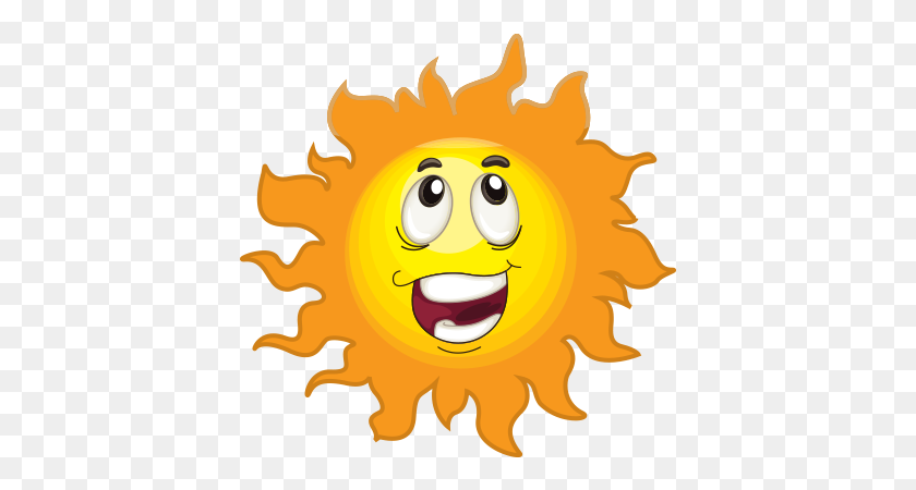 Emojisi - Happy Sun PNG