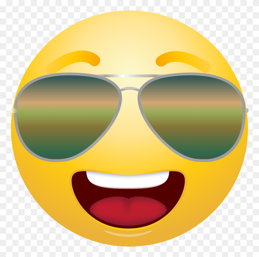 2009x2000 Emoticon Emoji With Sunglasses Clipart Info Free Clip Art - Sad Emoji Clipart