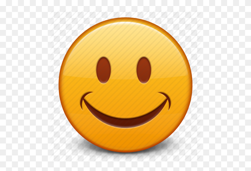Emoticon, Face, Happy, Smile, Smiley Icon - Smile Icon PNG