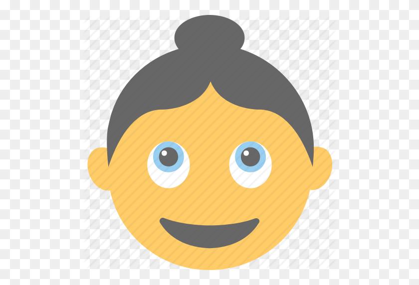 Emoticon, Happy, Smiley, Surprised, Woman Emoji Icon - Surprised Emoji PNG