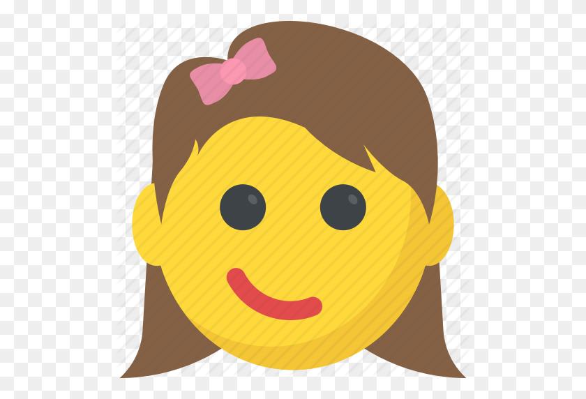 Emoticons, Girl Emoji, Smiley, Smirking Face, Surprised Icon - Surprised Emoji PNG