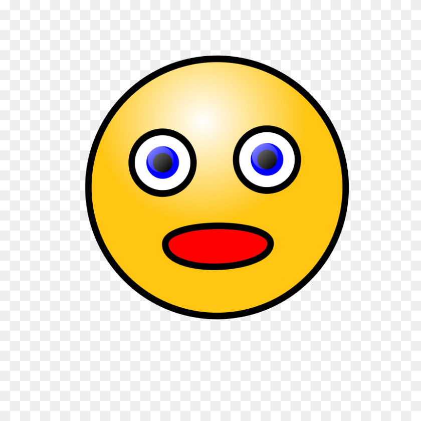 Emotions Clipart Straight Face - Smiley Face Clip Art Emotions