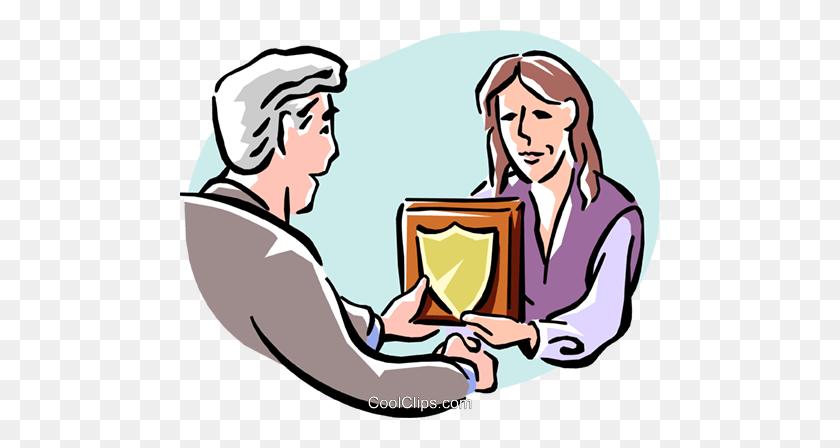 480x388 Employee Congratulations Royalty Free Vector Clip Art Illustration - Congratulations Free Clip Art
