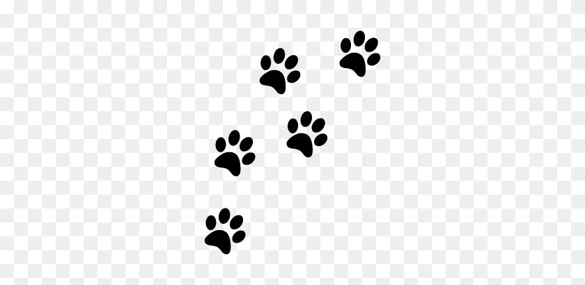 Empreinte Chat - Dog Footprint Clipart