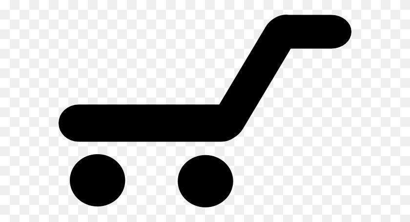 Empty Shopping Trolley Clip Art - Empty Basket Clipart