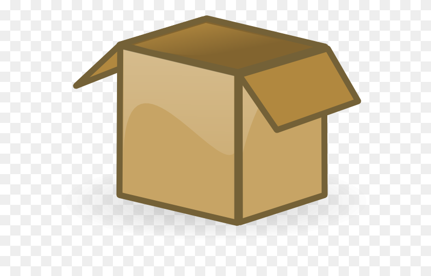 Empty Toy Box Clipart - Toy Box Clipart