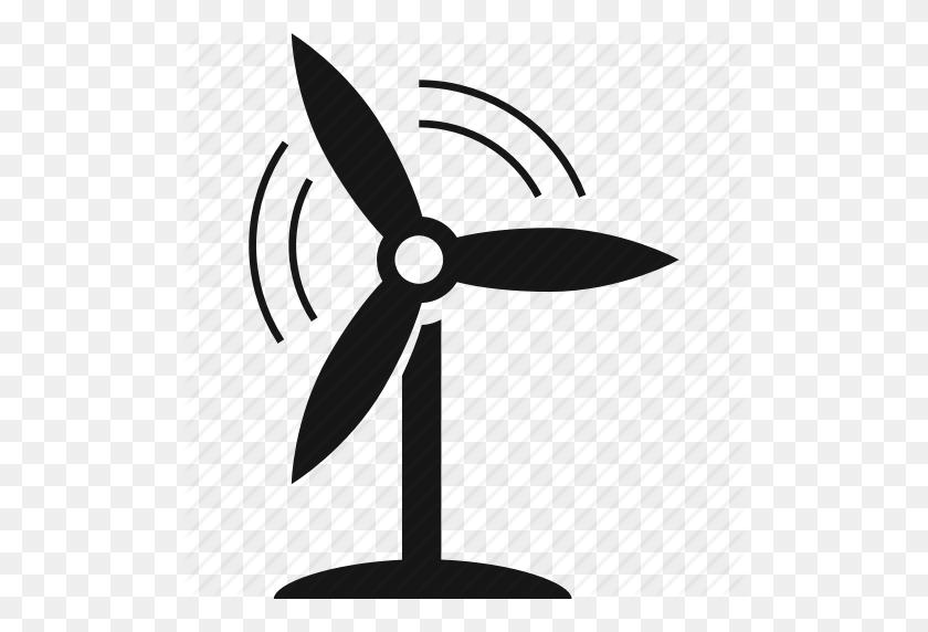 Energy, Fan, Turbine, Wind Icon - Wind Turbine Clipart