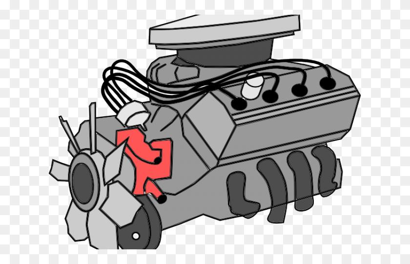 640x480 Engine Clipart - Hot Rod Clipart