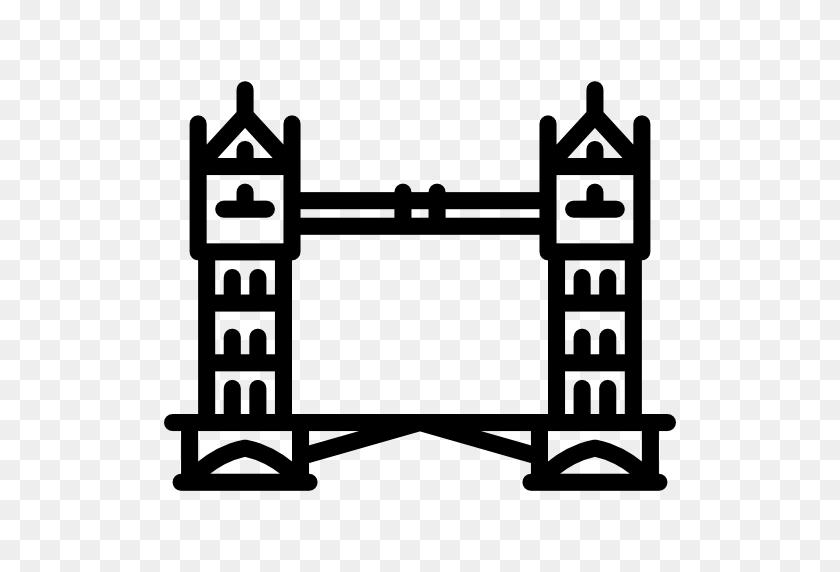 512x512 England, Monuments, Architectonic, Building, Tower Bridge - London Bridge Clipart
