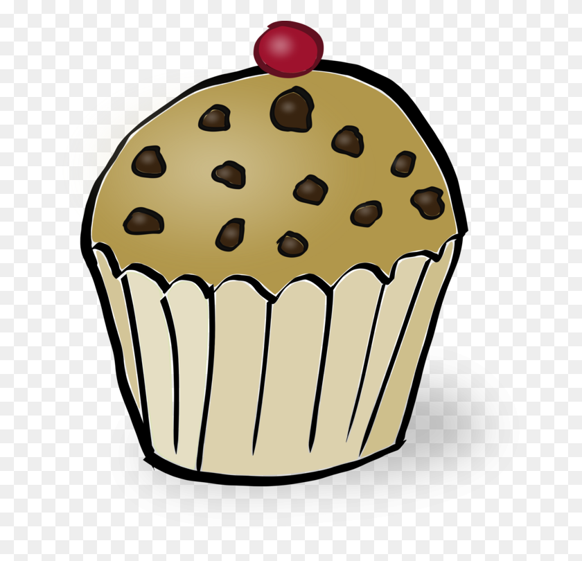 English Muffin Cupcake Tart Torte - Pastry Clipart
