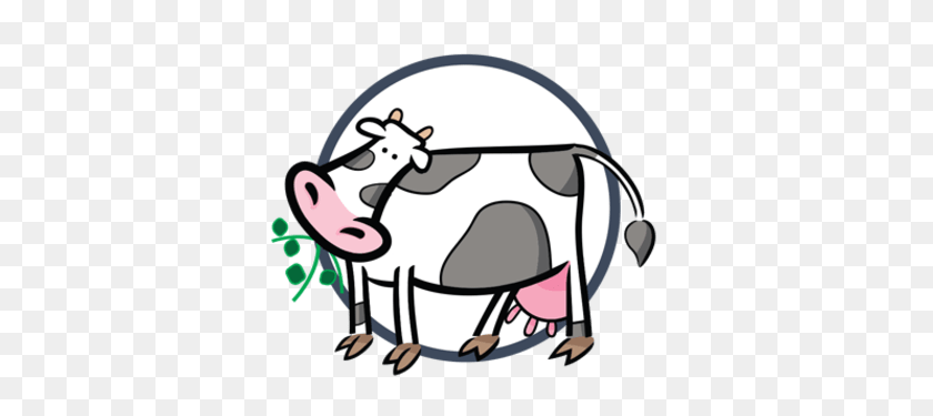 Engs Dairy - Milking A Cow Clipart