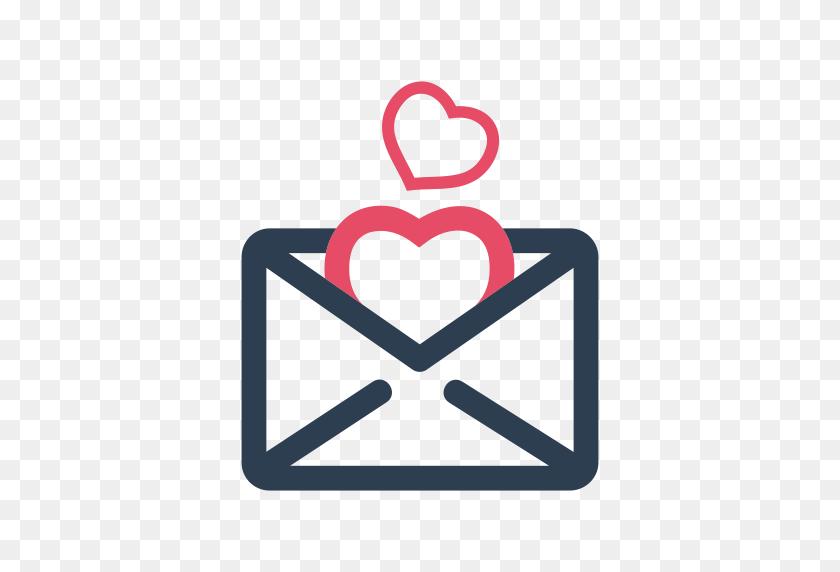 Envelope, Letter, Love, Valentine, Valentine's Day Icon - Valentine Heart PNG