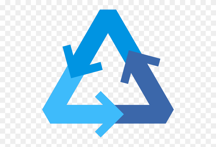 Environment, Signs, Ecology And Environment, Arrows, Arrow, Nature - Recycle Symbol PNG