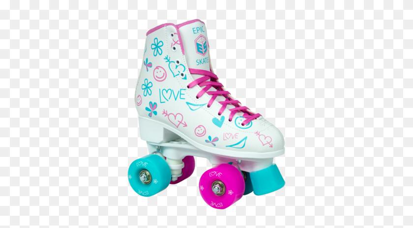 Epic Quad Allure Artistic Style Roller Skates - Roller Skate PNG