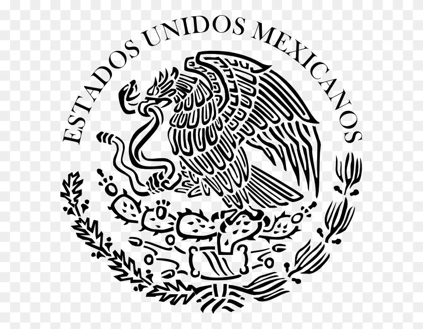 Escudo Hi Bandera - Mexican Flag Clipart