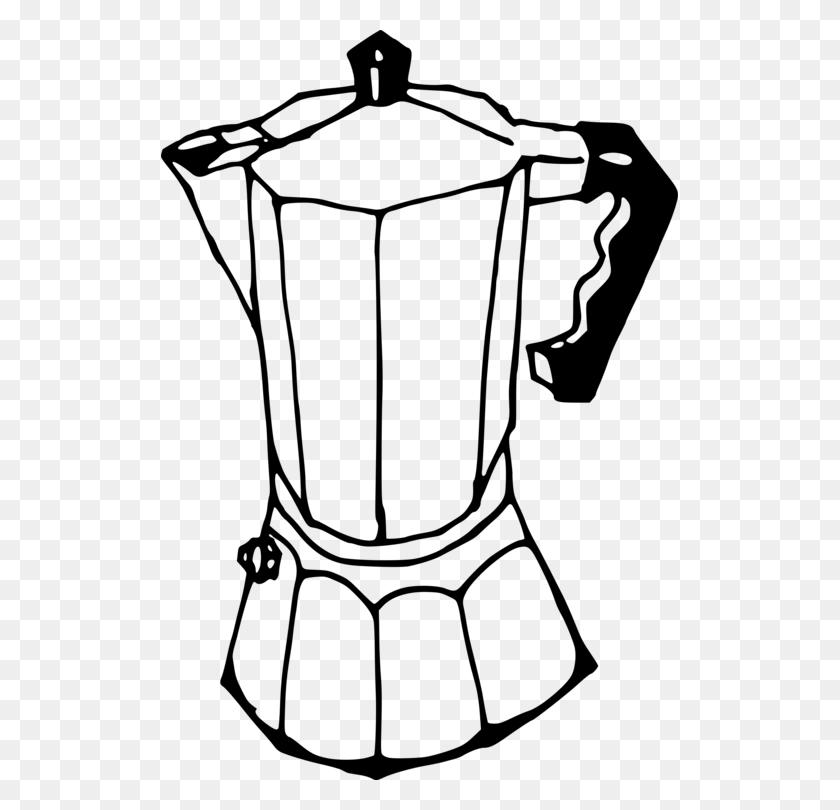 Espresso Coffeemaker Moka Pot Drawing - Coffee Maker ...