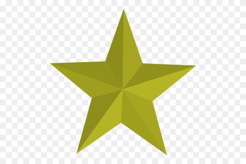 500x500 Estrellas Clip Art Gratuito Vectores De Dominio - Estrella Clipart