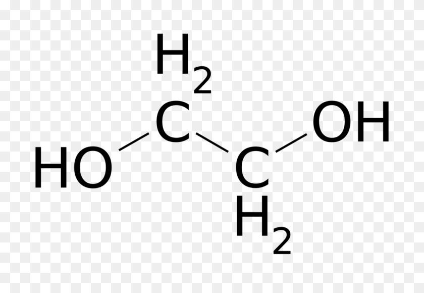 Ethylene Glycol Diol Organic Chemistry - Organic Chemistry Clipart
