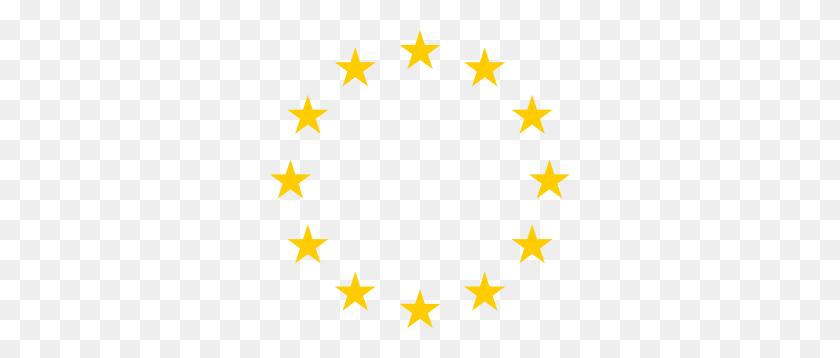 European Stars Clip Art - 5 Stars Clipart