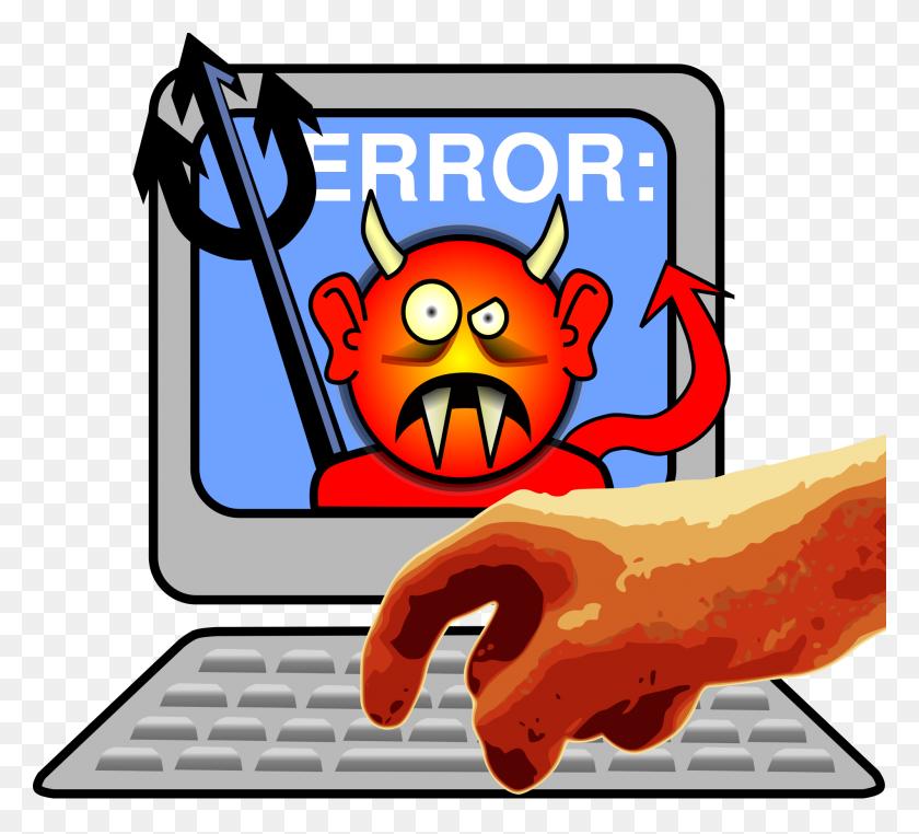Evil Computer Clipart Clip Art Images - Personal Computer Clipart