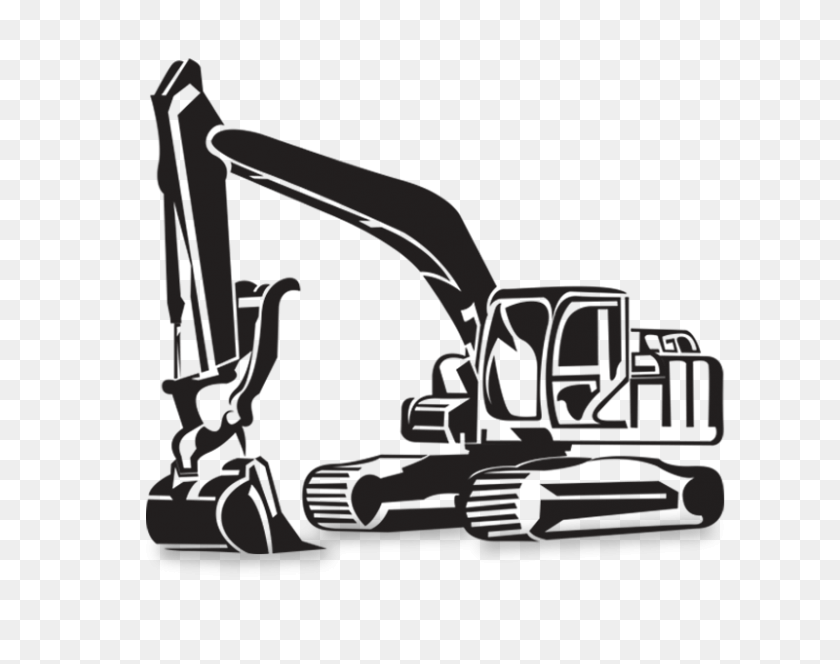 800x620 Excavator Backhoe Earthworks Machine Clip Art - Free Excavator Clipart