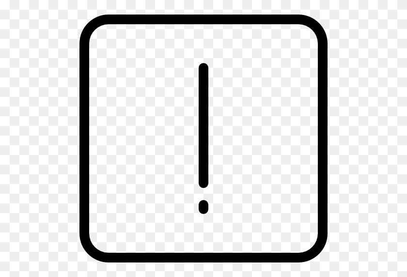 Exclamation Mark, Symbol, Warning, Square, Shapes, Exclamation - Exclamation Point PNG