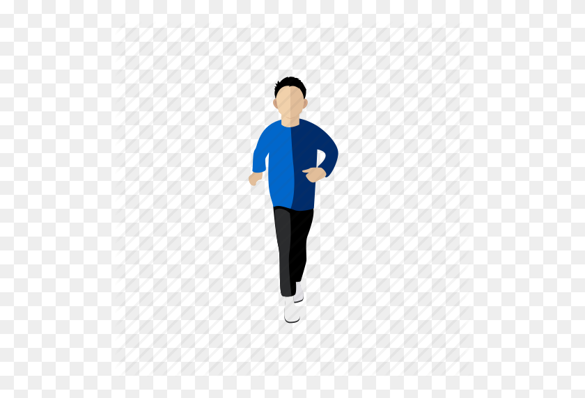 Exercise, Man, People, Running, Sport, Trainer Icon - People Running PNG