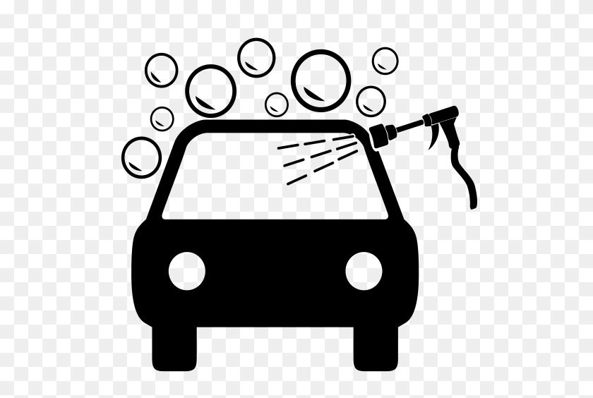 Express Car Wash, Car Wash, Car Wash Service Icon With Png - Washing Car Clipart