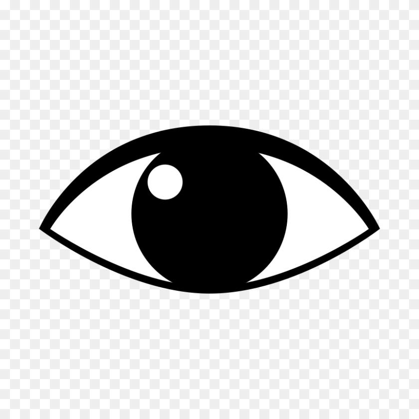 800x800 Eye Clip Art Free - London Eye Clipart