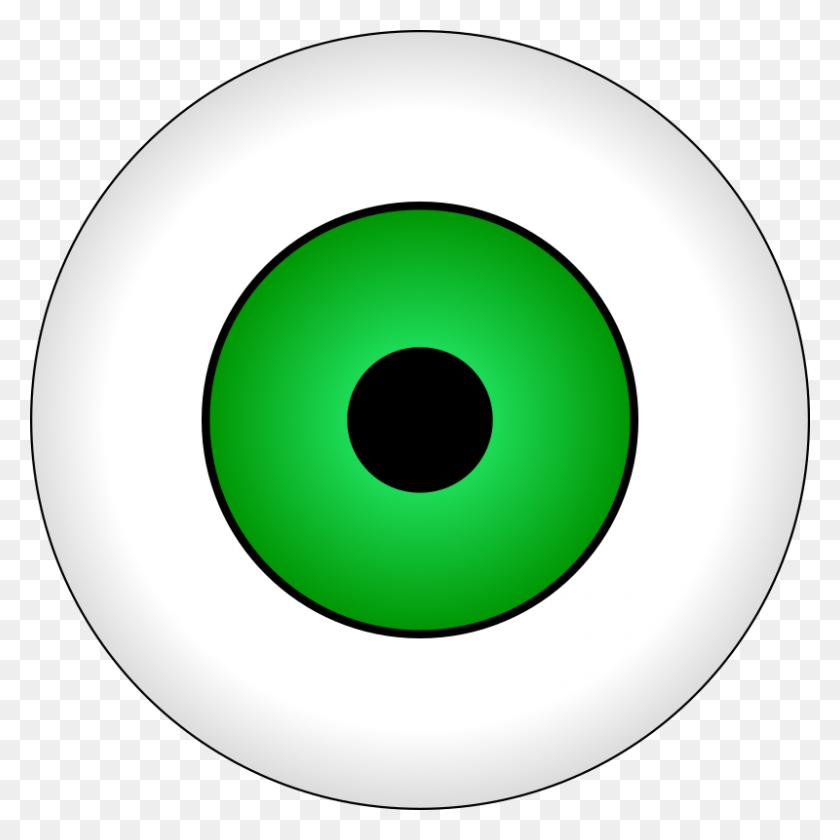 Eyeball Clipart Circle Eye - Minion Eye Clipart