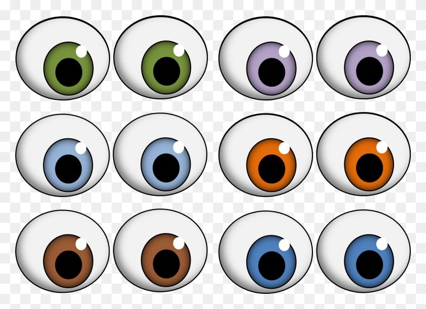 Eyeball Clipart Eye Mouth - Monster Mouths Clipart