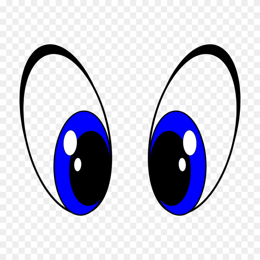 800x800 Eyeball Clipart Oval Eye - Free Clipart Eyes
