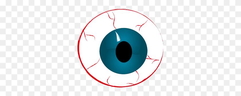 Eyeball Clipart Spooky - Scary Halloween Clipart