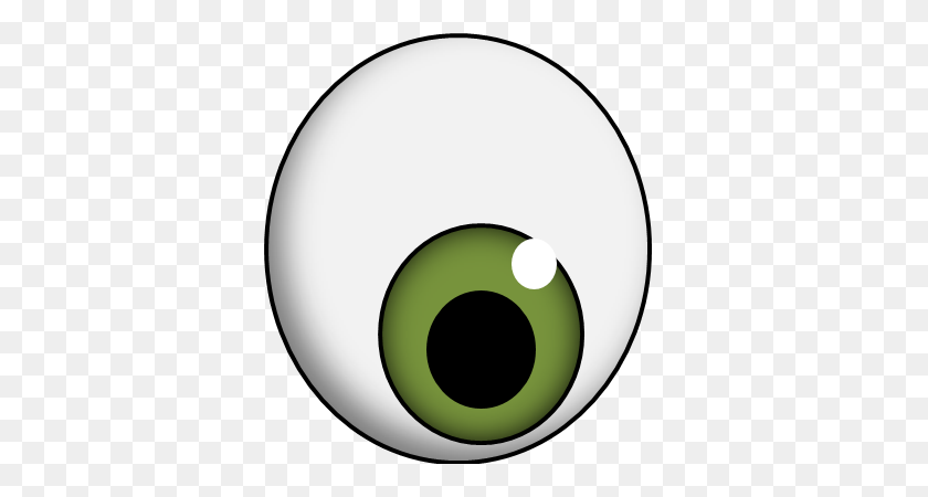 361x390 Eyeball Clipart Transparent Background - Artichoke Clipart