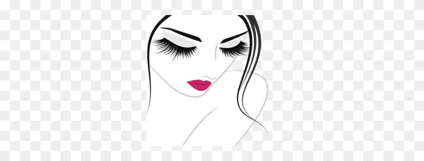 Eyebrows Clipart - Unicorn Eyelashes Clipart
