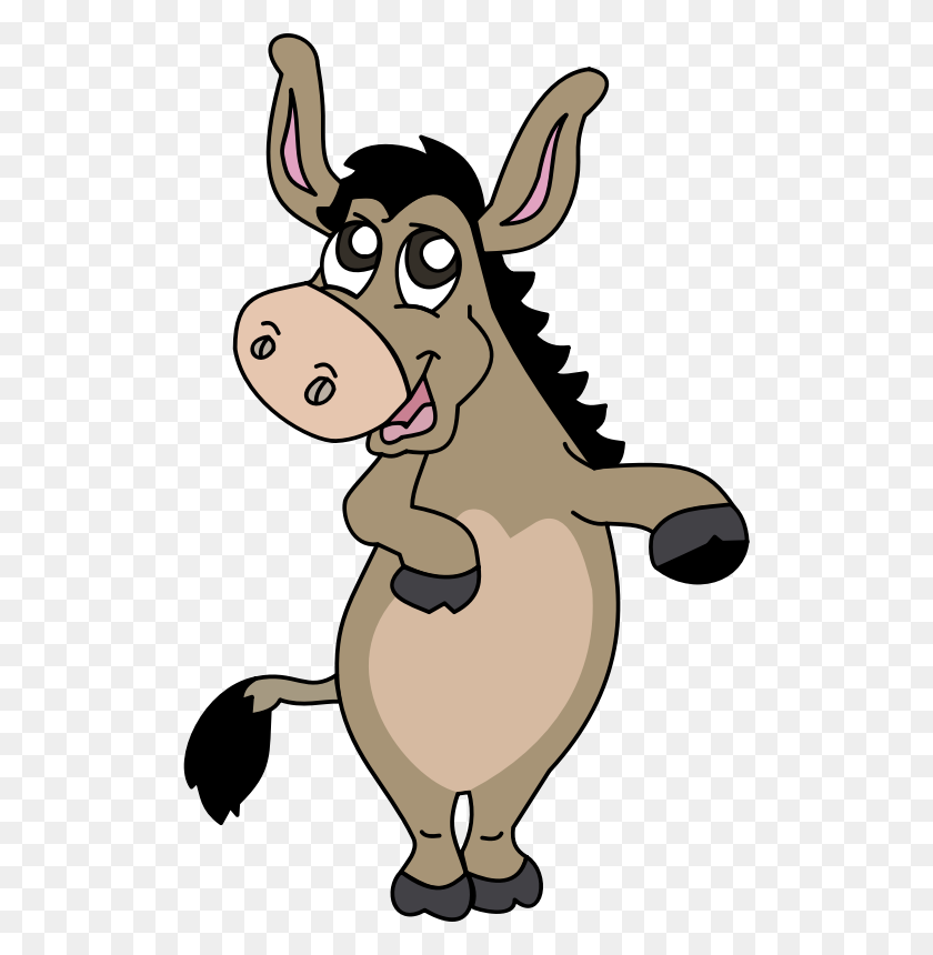 Face Clipart Donkey - Doc Mcstuffins Clipart