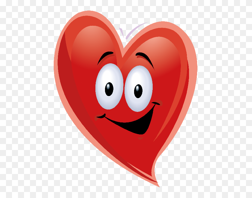 600x600 Face Clipart Heart - Free Cupid Clipart